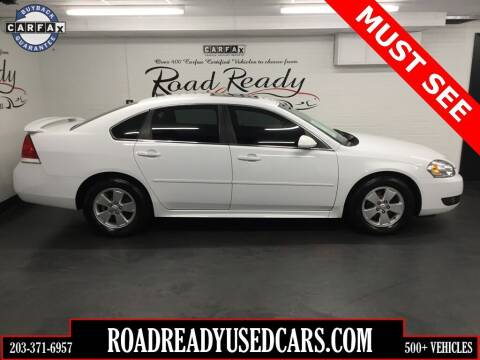 2010 Chevrolet Impala for sale at Road Ready Used Cars in Ansonia CT