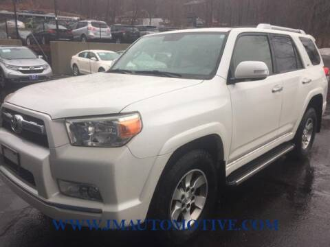 2013 Toyota 4Runner for sale at J & M Automotive in Naugatuck CT