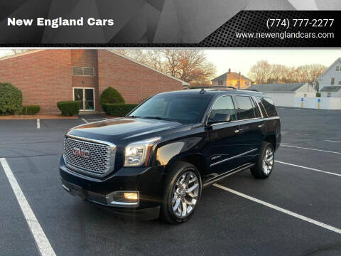2015 GMC Yukon for sale at New England Cars in Attleboro MA