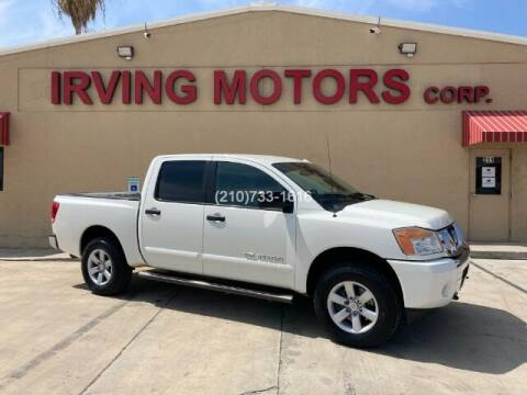 2013 Nissan Titan for sale at Irving Motors Corp in San Antonio TX