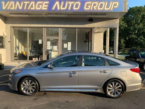 2015 Hyundai Sonata for sale at Vantage Auto Group in Brick NJ