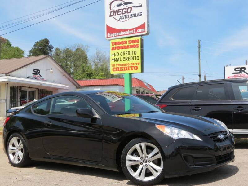 2011 Hyundai Genesis Coupe for sale at Diego Auto Sales #1 in Gainesville GA