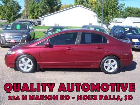 2010 Honda Civic for sale at Quality Automotive in Sioux Falls SD