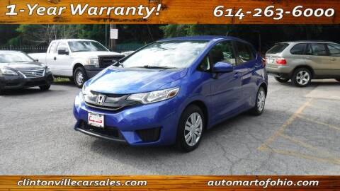 2017 Honda Fit for sale at Clintonville Car Sales - AutoMart of Ohio in Columbus OH