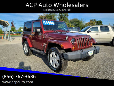 2007 Jeep Wrangler for sale at ACP Auto Wholesalers in Berlin NJ