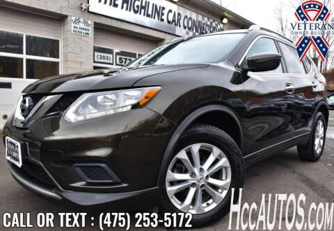 2016 Nissan Rogue for sale at The Highline Car Connection in Waterbury CT