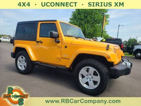 2012 Jeep Wrangler for sale at R & B Car Company in South Bend IN