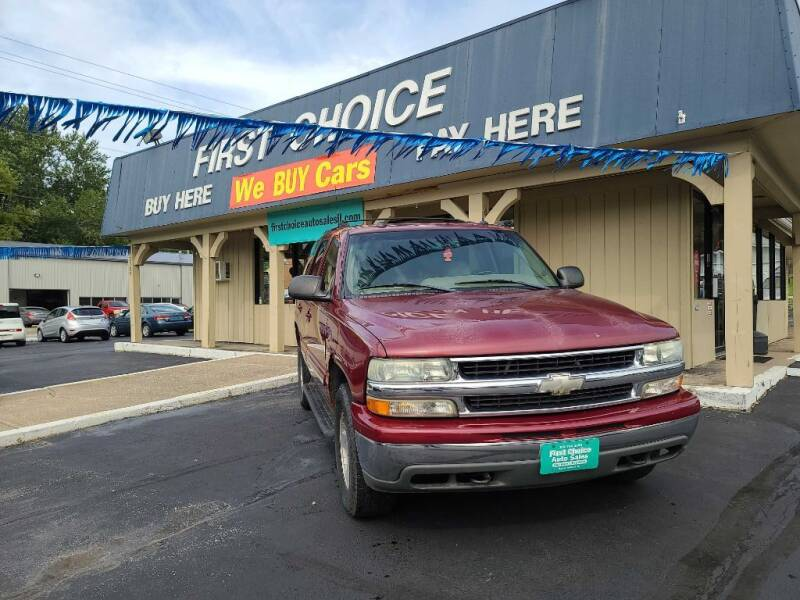 2004 Chevrolet Tahoe for sale at First Choice Auto Sales in Rock Island IL