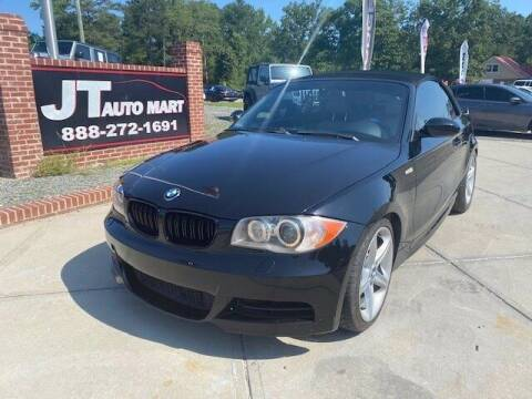 2009 BMW 1 Series for sale at J T Auto Group in Sanford NC