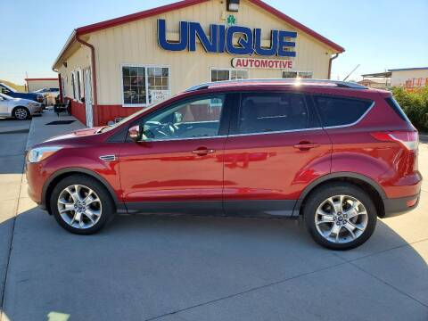 "2014 Ford Escape for sale at UNIQUE AUTOMOTIVE ""BE UNIQUE"" in Garden City KS"