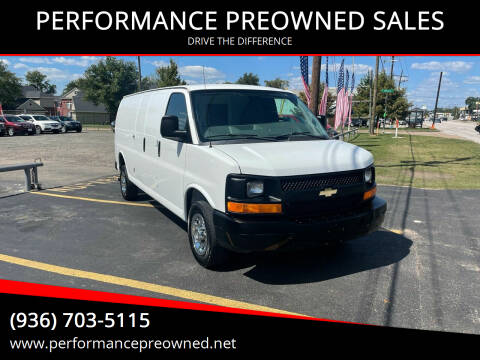 2013 Chevrolet Express Cargo for sale at PERFORMANCE PREOWNED SALES in Conroe TX