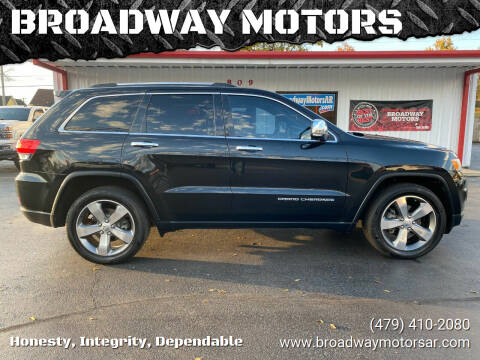 2015 Jeep Grand Cherokee for sale at BROADWAY MOTORS in Van Buren AR
