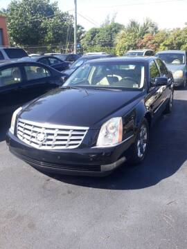2007 Cadillac DTS for sale at LAND & SEA BROKERS INC in Deerfield FL