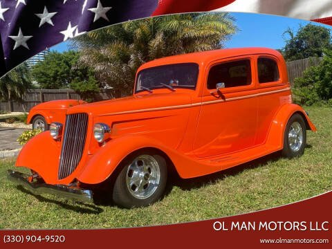 1933 Ford Crown Victoria for sale at Ol Man Motors LLC in Louisville OH