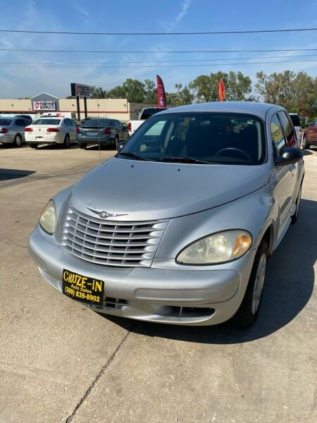 2004 Chrysler PT Cruiser for sale at Cruze-In Auto Sales in East Peoria IL