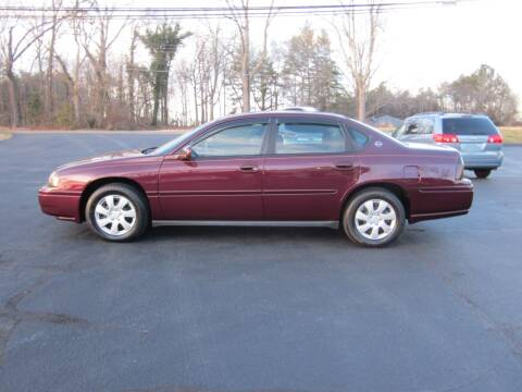 2004 Chevrolet Impala for sale at Barclay's Motors in Conover NC