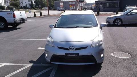 2012 Toyota Prius for sale at Sharp Auto Center in Worcester MA