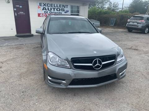 2014 Mercedes-Benz C-Class for sale at Excellent Autos of Orlando in Orlando FL