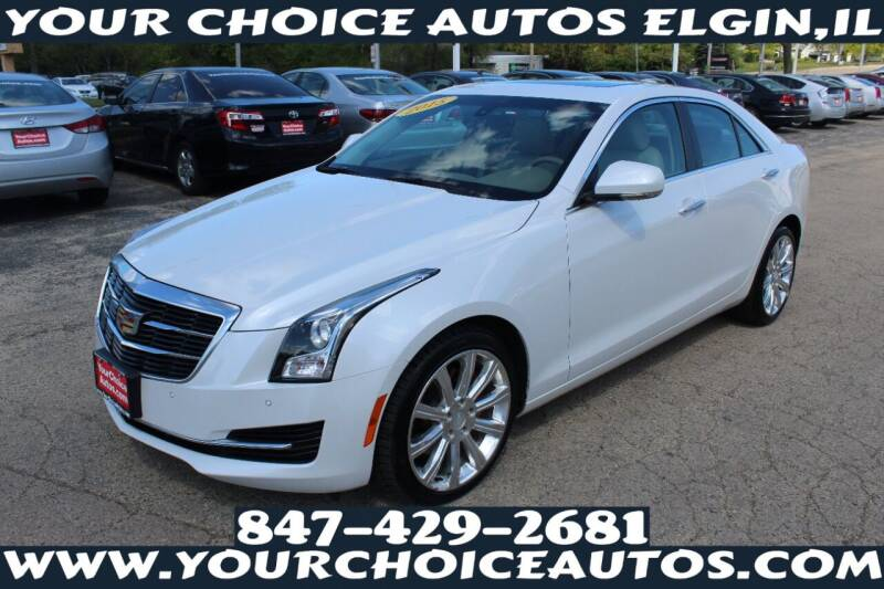 2015 Cadillac ATS for sale at Your Choice Autos - Elgin in Elgin IL