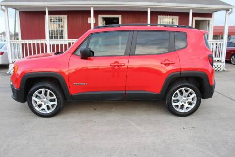 2018 Jeep Renegade for sale at AMT AUTO SALES LLC in Houston TX