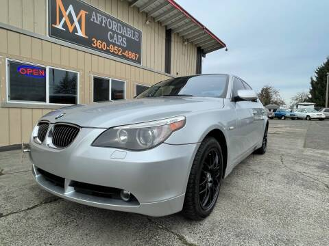 2007 BMW 5 Series for sale at M & A Affordable Cars in Vancouver WA