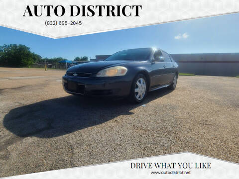 2011 Chevrolet Impala for sale at Auto District in Baytown TX