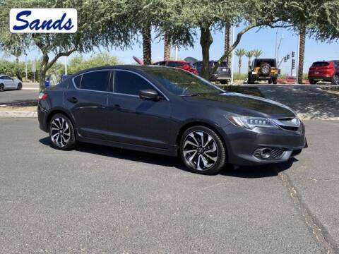2016 Acura ILX for sale at Sands Chevrolet in Surprise AZ