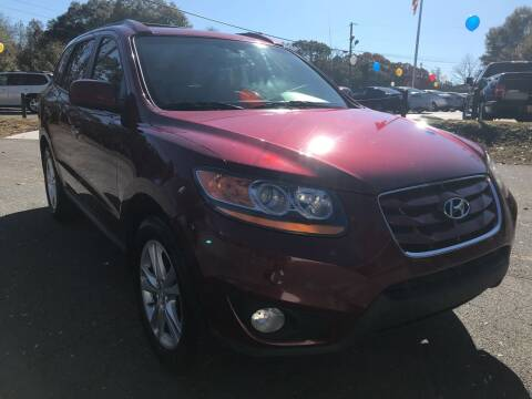 2011 Hyundai Santa Fe for sale at No Full Coverage Auto Sales in Austell GA