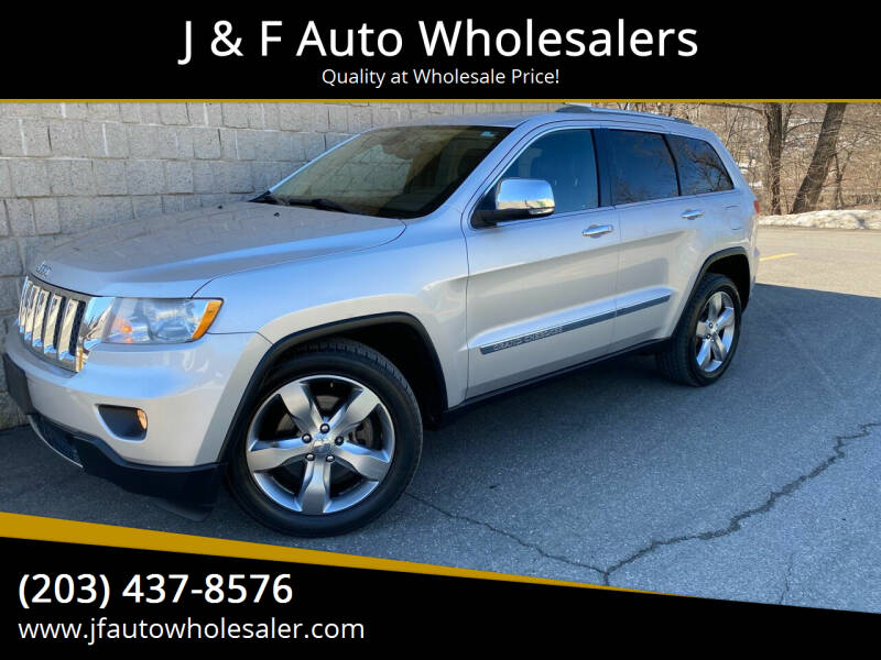 2011 Jeep Grand Cherokee for sale at J & F Auto Wholesalers in Waterbury CT