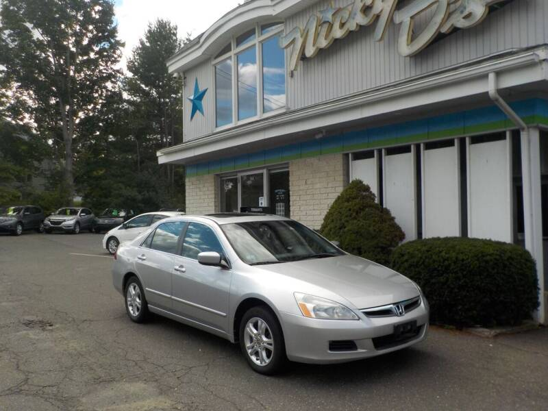2007 Honda Accord for sale at Nicky D's in Easthampton MA