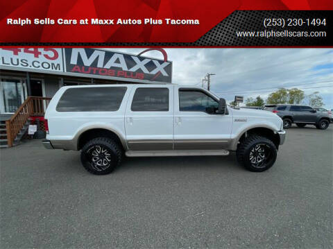 2000 Ford Excursion for sale at Ralph Sells Cars at Maxx Autos Plus Tacoma in Tacoma WA