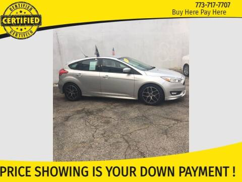 2015 Ford Focus for sale at AutoBank in Chicago IL