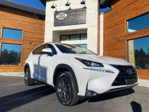 2017 Lexus NX 200t for sale at Hamilton Motors in Lehi UT