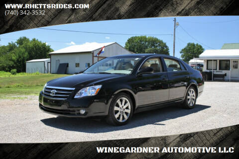 2006 Toyota Avalon for sale at WINEGARDNER AUTOMOTIVE LLC in New Lexington OH