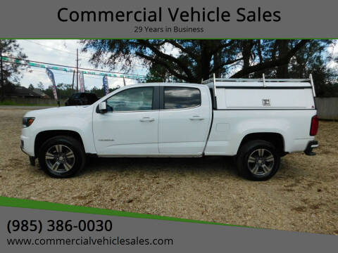 2017 Chevrolet Colorado for sale at Commercial Vehicle Sales in Ponchatoula LA