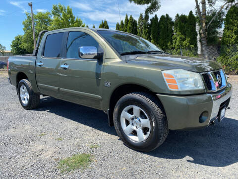 2004 Nissan Titan for sale at Universal Auto Inc in Salem OR