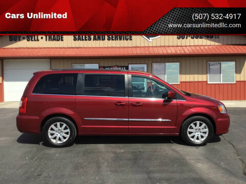 2012 Chrysler Town and Country for sale at Cars Unlimited in Marshall MN