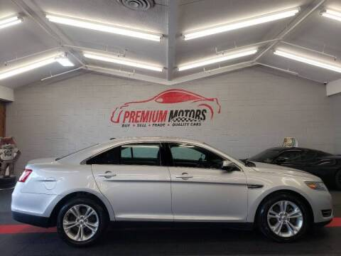 2015 Ford Taurus for sale at Premium Motors in Villa Park IL