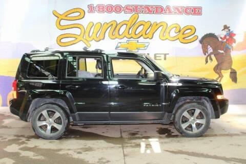 2016 Jeep Patriot for sale at Sundance Chevrolet in Grand Ledge MI