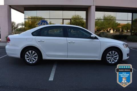 2013 Volkswagen Passat for sale at GOLDIES MOTORS in Phoenix AZ