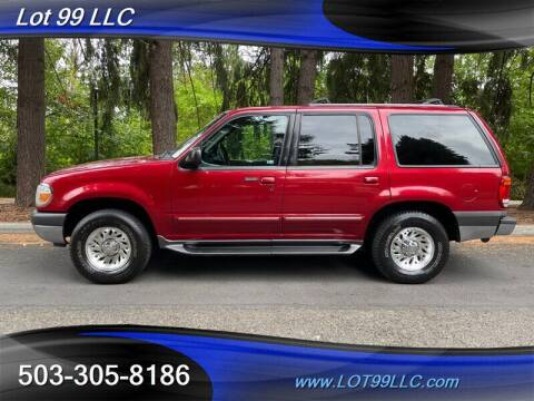 2000 Ford Explorer for sale at LOT 99 LLC in Milwaukie OR