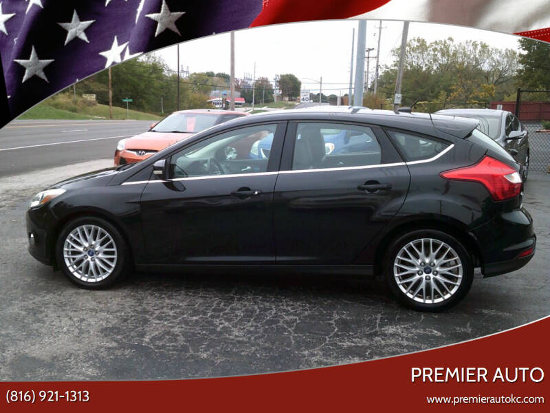 2012 Ford Focus for sale at Premier Auto in Independence MO