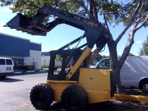 1997 New Holland New Flyer  LX865 Bobcat for sale at Tropical Motors Cargo Vans and Car Sales Inc. in Pompano Beach FL