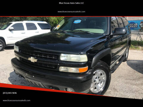 2004 Chevrolet Suburban for sale at Blue Ocean Auto Sales LLC in Tampa FL