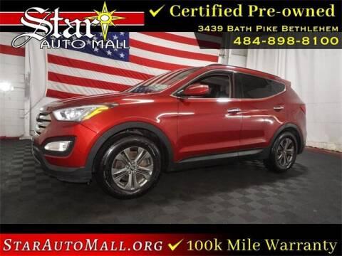 2014 Hyundai Santa Fe Sport for sale at STAR AUTO MALL 512 in Bethlehem PA