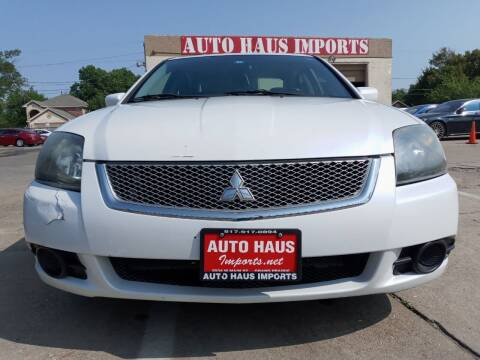 2011 Mitsubishi Galant for sale at Auto Haus Imports in Grand Prairie TX