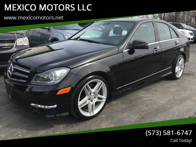 2013 Mercedes-Benz C-Class for sale at MEXICO MOTORS LLC in Mexico MO