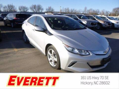 2018 Chevrolet Volt for sale at Everett Chevrolet Buick GMC in Hickory NC