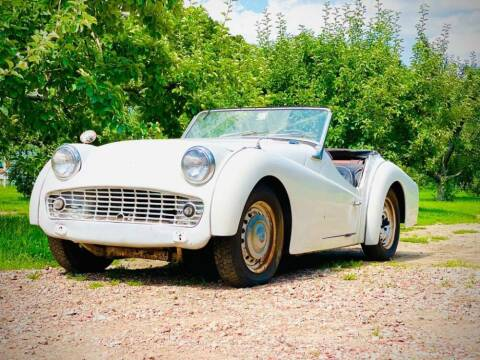 1959 Triumph TR3 for sale at Gullwing Motor Cars Inc in Astoria NY
