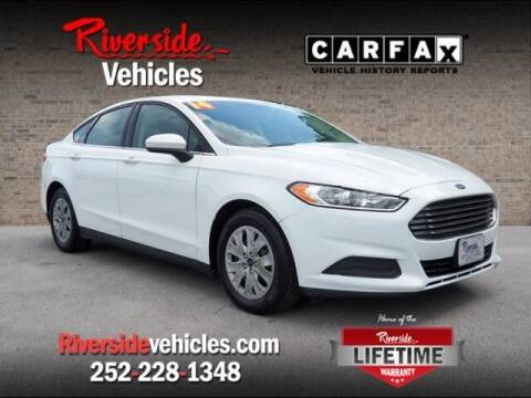 2014 Ford Fusion for sale at Riverside Mitsubishi(New Bern Auto Mart) in New Bern NC